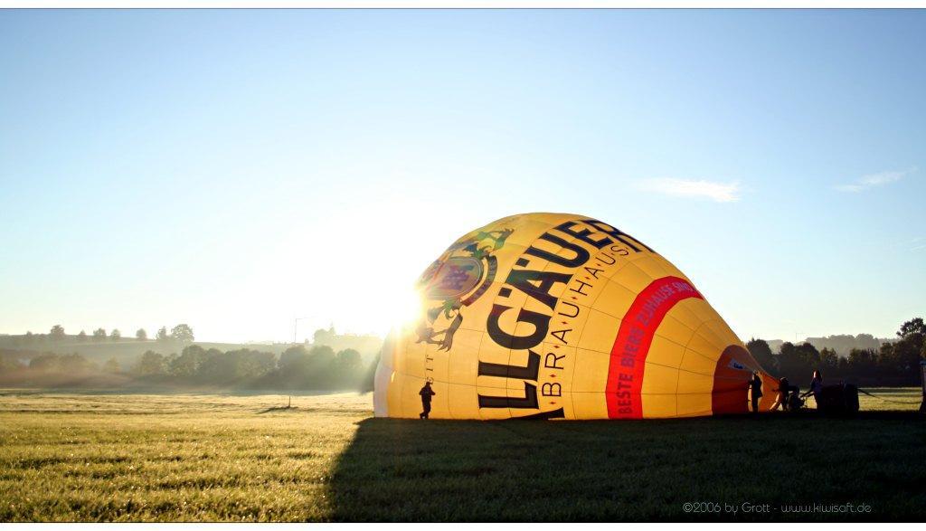 ballon sunkiss by Kiwisaft.de