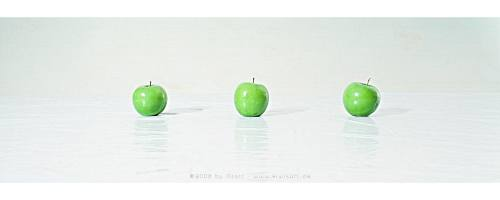 green apples by Kiwisaft.de
